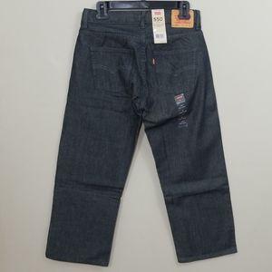NWT Boys Levi's 550 Relaxed Adjustable Waist Jeans